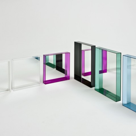 miroir only me kartell transparent