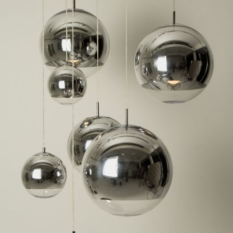 Mirror Ball suspension design Tom Dixon 50cm