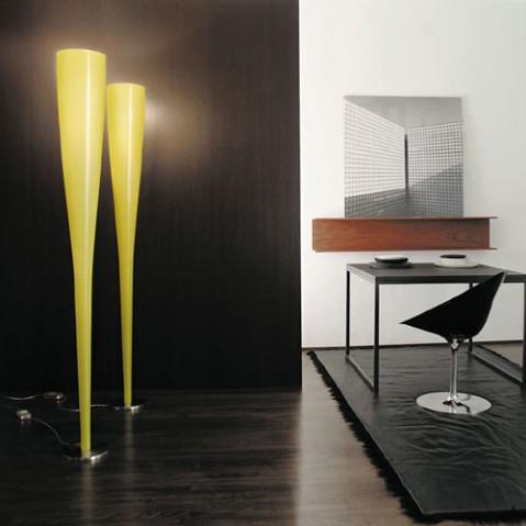 Mite Lampadaire Design Foscarini Jaune
