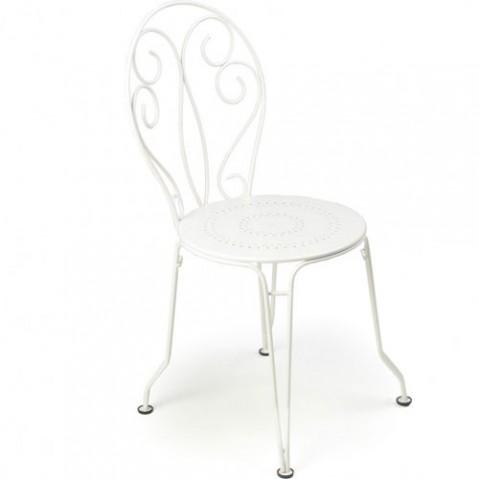 Montmartre Chaise Empilable Design Fermob Blanc
