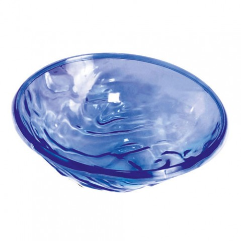 Moon Coupe saladier design kartell bleu