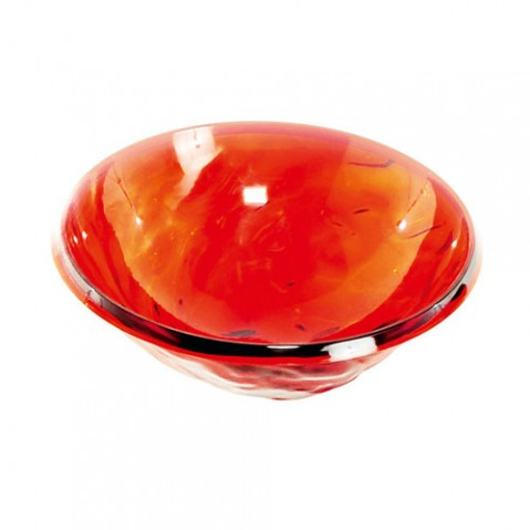 Moon Coupe saladier design kartell rouge