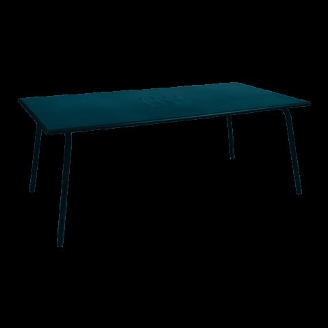 TABLE MONCEAU 194X94X74 BLEU ACAPULCO de FERMOB