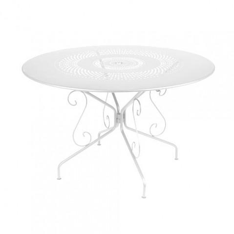 TABLE MONTMARTRE 117CM, 23 couleurs de FERMOB