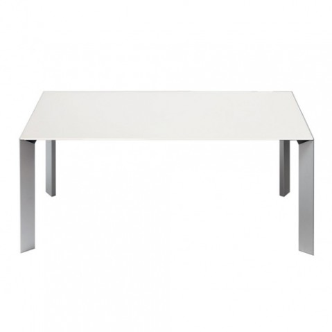 Kristalia table Nori extensible blanc