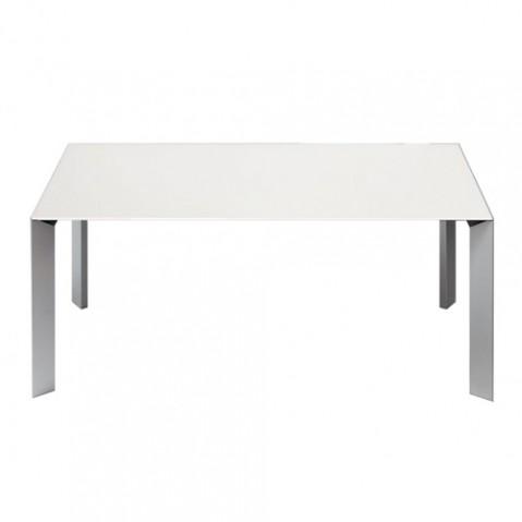 Kristalia table Nora fixe blanc
