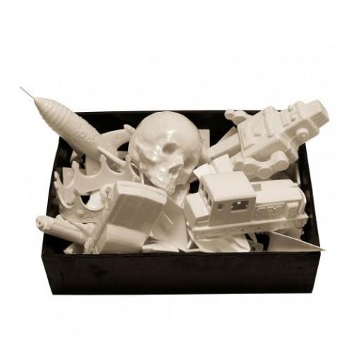 figurine memorabilia seletti crane