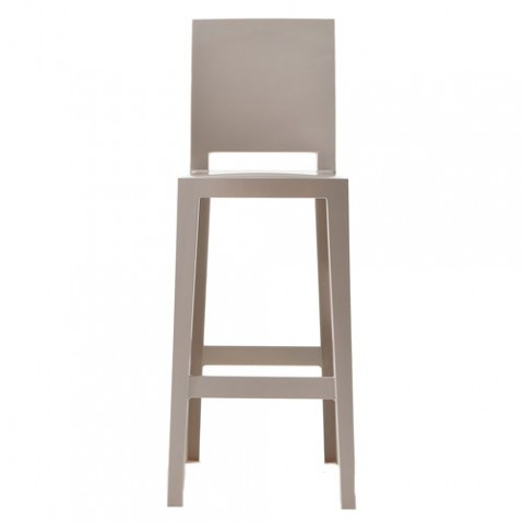 one more please kartell tabouret h65 cristal