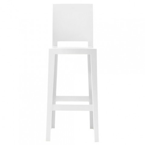 one more please kartell tabouret h75 blanc