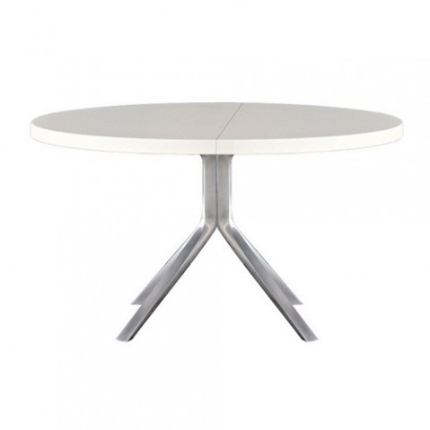 Kristalia table fixe Oops blanc