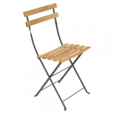 pack 2 chaises bistro naturel fermob romarin