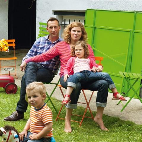 Bistro Lot de 2 Chaises Design Fermob Tilleul