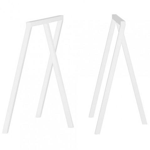 paire treteaux loop hay blanc
