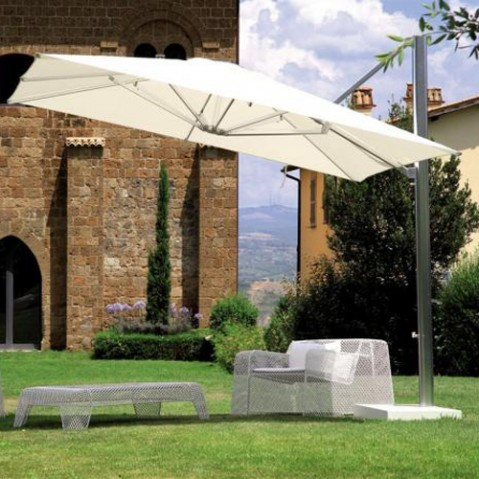 socle parasol deporte shade emu blanc