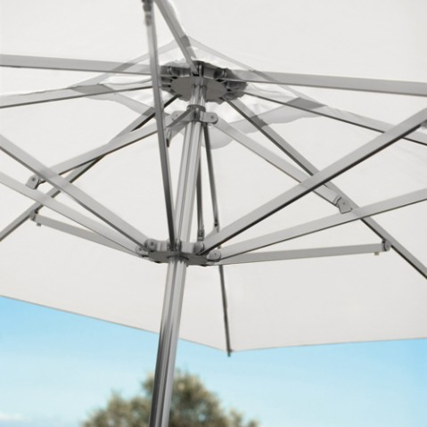 parasol shade 300 300 emu blanc