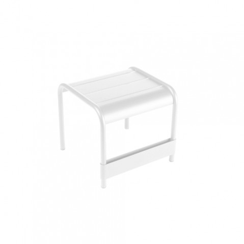 petite table basse luxembourg fermob blanc coton