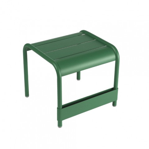petite table basse luxembourg cedre vert fermob