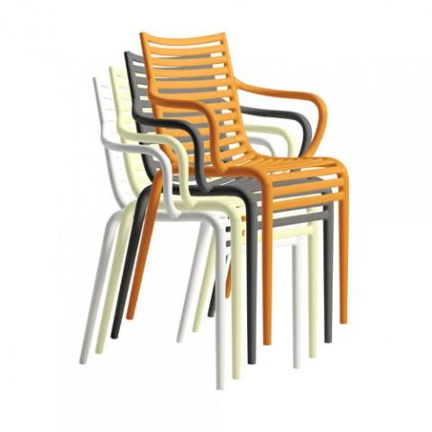 Driade fauteuil pip-e blanc