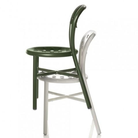 pipe chaise magis blanc