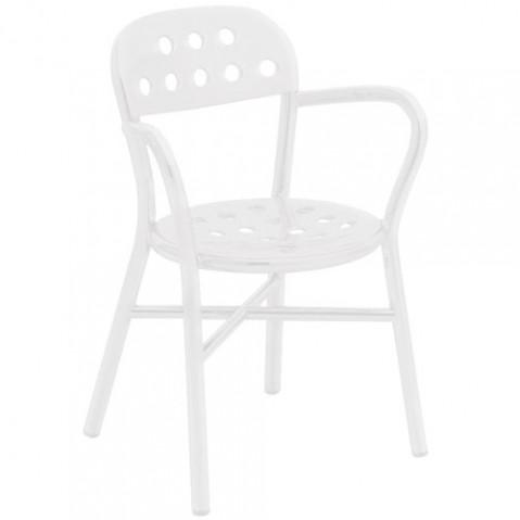 Pipe fauteuil design magis blanc