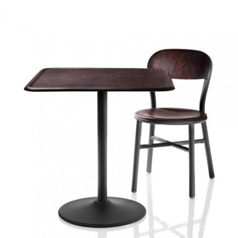 Pipe fauteuil design magis blanc hetre naturel