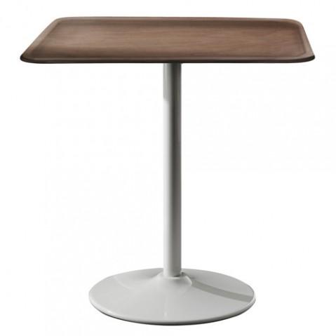 TABLE PIPE, L.71 x l.71 cm, 2 couleurs de MAGIS