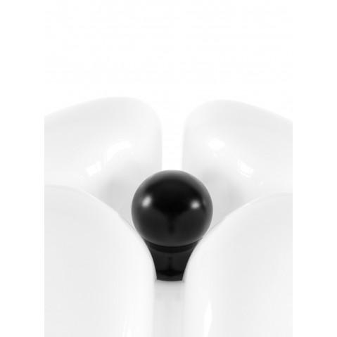 lampe poser pipistrello martinelli luce marron fonce