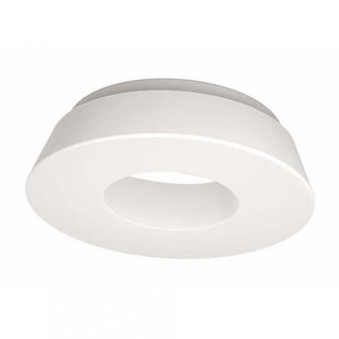 plafonnier circular pol martinelli luce blanc