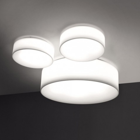 plafonnier hole light 50 martinelli luce blanc