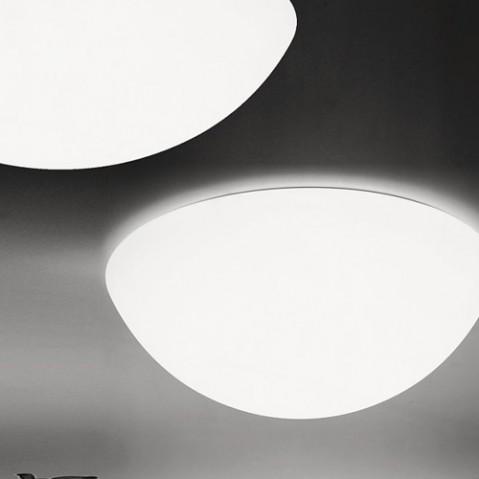 plafonnier semisfera 80 martinelli luce