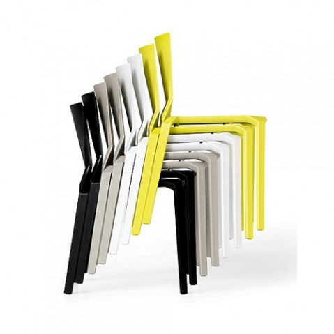 Plana Chaise Design Kristalia Beige