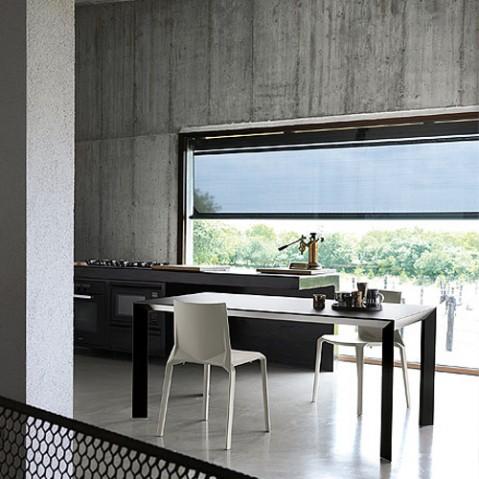 Plana Chaise Design Kristalia Blanc