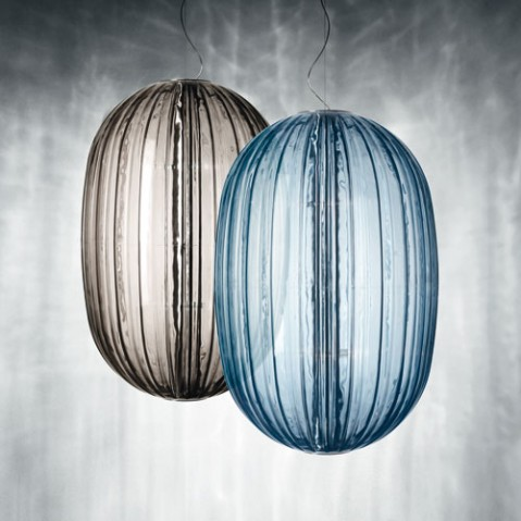 Suspension Plass Foscarini gris