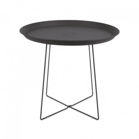 TABLE D'APPOINT PLAT-O, ANTHRACITE de FATBOY