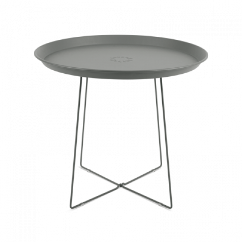 TABLE D'APPOINT PLAT-O, GREY de FATBOY