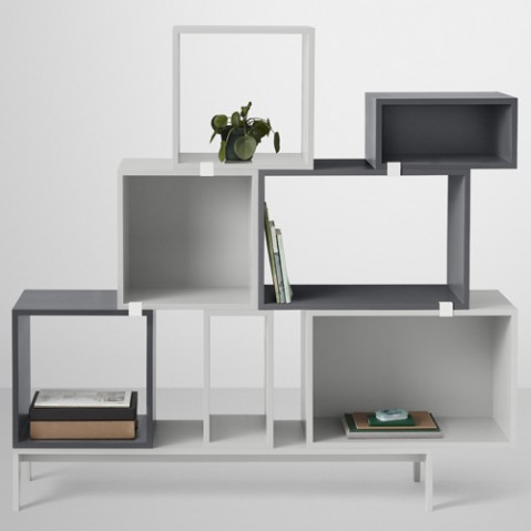 socle podium stacked muuto gris fonce