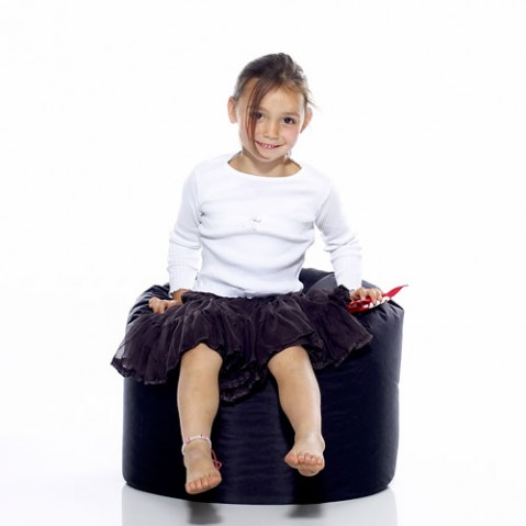 Point Fatboy Pouf design noir