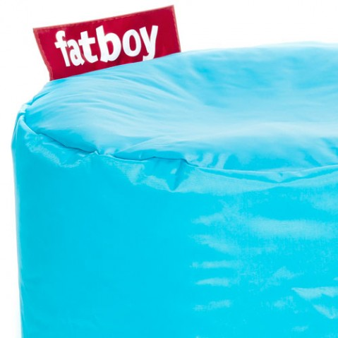 Point Fatboy Pouf design turquoise