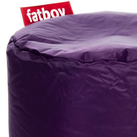 Point Fatboy Pouf design violet foncé
