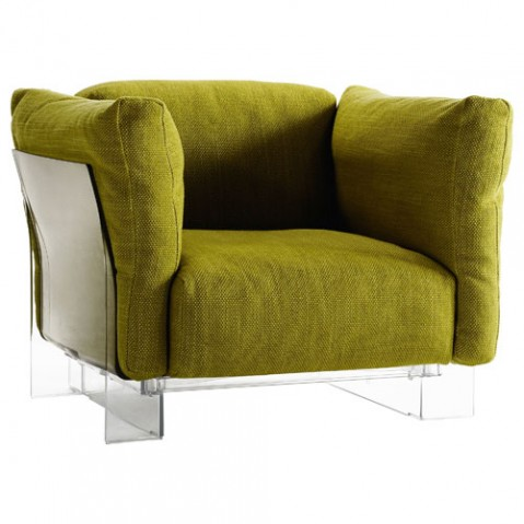Pop Duo Fauteuil Design Kartell Vert