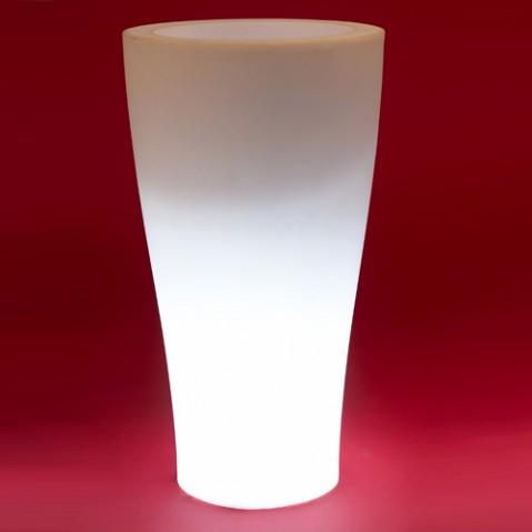 pot lumineux curvada vondom blanc