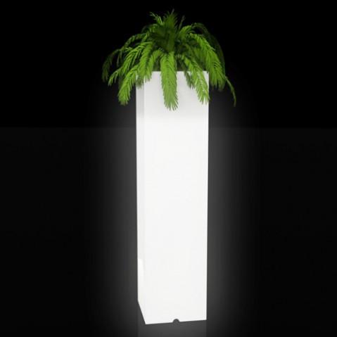 pot lumineux torre cuadrada vondom blanc
