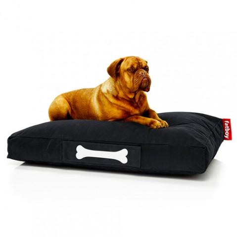 pouf doggielounge stonewashed large fatboy noir