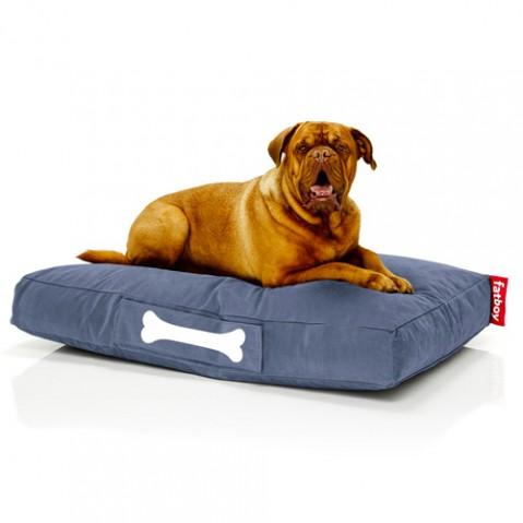 pouf doggielounge stonewashed large fatboy bleu