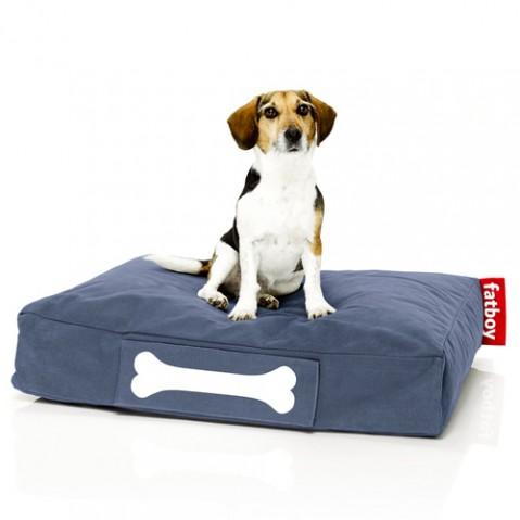 pouf doggielounge stonewashed small fatboy bleu