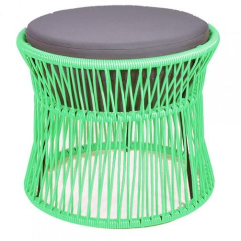 pouf ito boqa vert turquoise