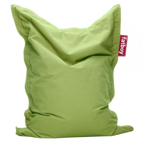 pouf junior stonewashed fatboy lime