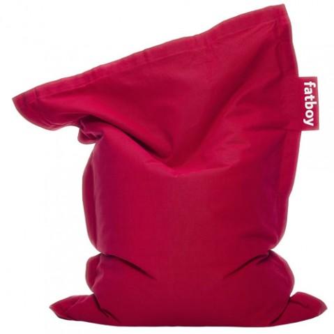 pouf junior stonewashed fatboy red