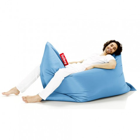 pouf original fatboy ice blue