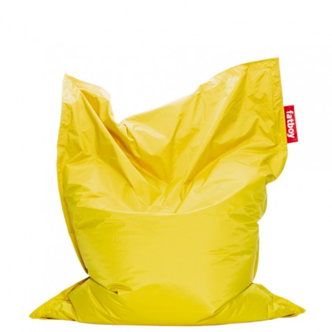 pouf original junior fatboy jaune